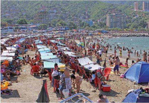 playa Bahia de los Niños Varagas enero 2013