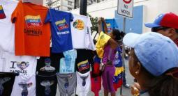 franelas del candidato Capriles