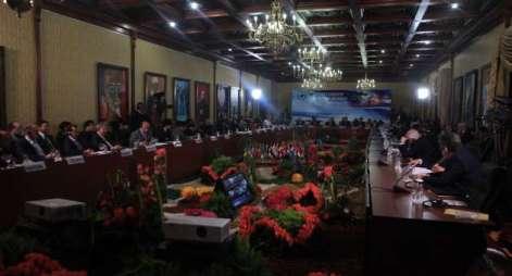 Réunion du Comité pro-Palestine, Caracas, Ministère des Affaires Étrangères, 17-18 avril 2013.