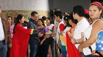 Le Vice-président de la république bolivarienne Jorge Arreaza a participé aux conclusions du congrès pour appuyer ses décisions.