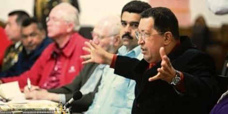 Hugo Chavez 20 octubre 2012