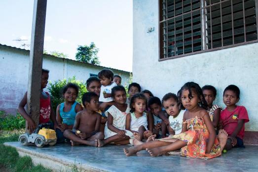 Enfants du Secteur Caño La Palma 1