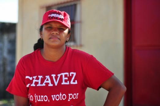 """Juana Benaventa, porte-parole du comité de finances du Conseil Communal Bolivarien Santa Bárbara et travailleuse de la forge, et de la briqueterie (coopérative """"Vivir viviendo"""")"""