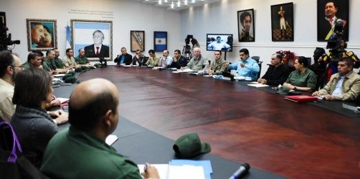 Conseil des Ministres présidé par Nicolas Maduro