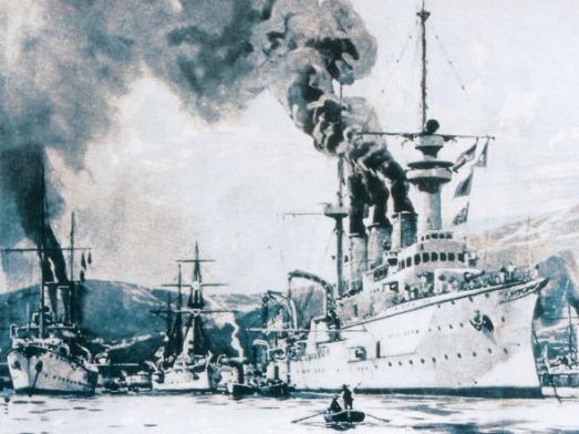 Le blocus du Venezuela par les puissances européennes, 1902