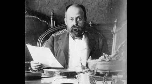 Le Président du Venezuela Cipriano Castro (1858-1924)