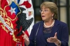 """Michelle Bachelet : """"nous n'appuierons jamais un mouvement qui cherche à renverser par la violence un gouvernemet élu librement et démocratiquement"""""""