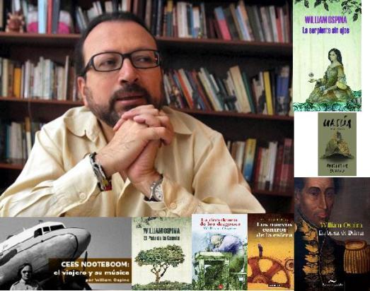 """William Ospina (né en 1954) est un des plus importants écrivains colombiens actuels. Poète, essayiste, romancier, il étudie le Droit et les Sciences Politiques à Cali puis abandonne la carrière pour se consacrer à la littérature et au journalisme. Rédacteur de l'édition dominicale de La Prensa (1988-1989). Collaborateur de El Espectador. Prix National de l'Essai (1982). Prix National de Poésie de l'Institut Colombien de Culture (1992). Prix de l'Essai """"Ezequiel Martínez Estrada"""" (Casa de las Américas, 2003). Prix de la littérature latino-américaine Rómulo Gallegos (2009)."""