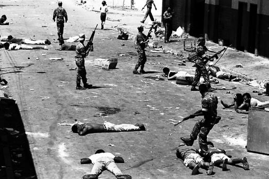 Ce massacre de deux à trois mille personnes par l'armée fut ordonné par le président social-démocrate Carlos Andrés Pérez pour écraser la rébellion populaire anti-FMI du 27 février 1989.