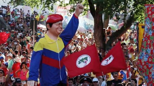 Carnaval d'Olinda, État de Pernambuco, Brésil, mars 2014.
