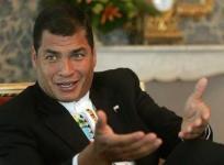 Rafael Correa, Président de l'Équateur