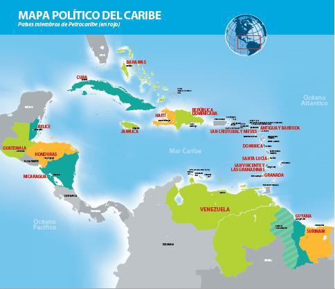 carte-politique-de-petrocaribe