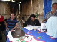 Enquête parmi les collaborateurs historiques de El Carmen, Matagalpa.