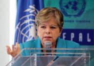 Alicia Barcena, secrétaire exécutive de la Commission Économique pour l'Amérique Latine et les Caraïbes (CEPAL, organisme de l'ONU)