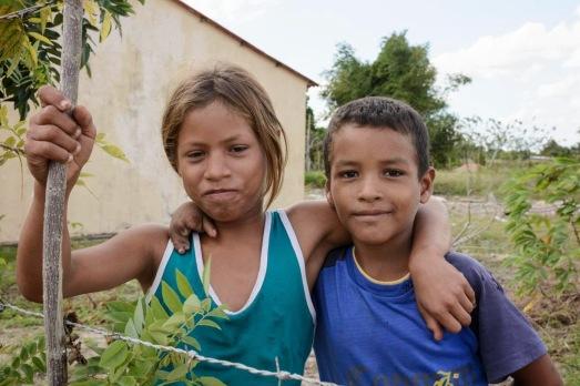 Enfants de la Commune d'El Rosillo (État d'Anzoategui)