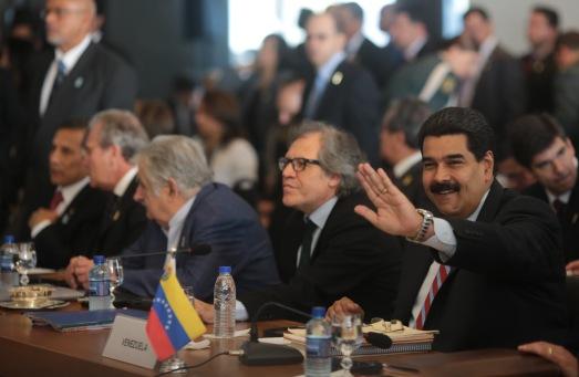 Le président Maduro à la plenière de l'Assemblée BRICS-UNASUR