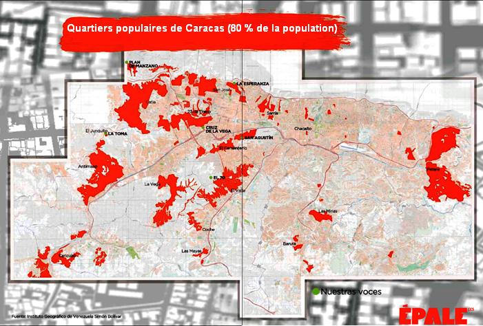 quartiers populaires Caracas