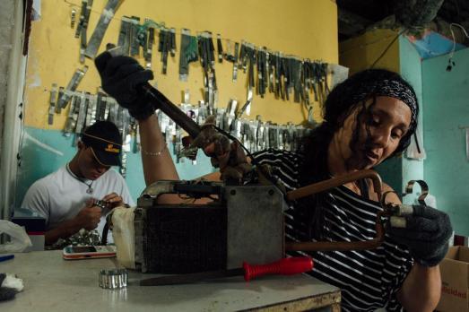Atelier de moules de pâtisserie