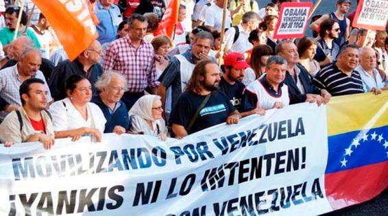 Marche de soutien au Venezuela á Buenos Aires