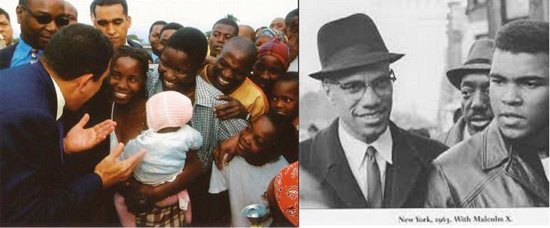 L afrique dans la vision de malcom x et hugo chavez le for Malcolm x fenetre