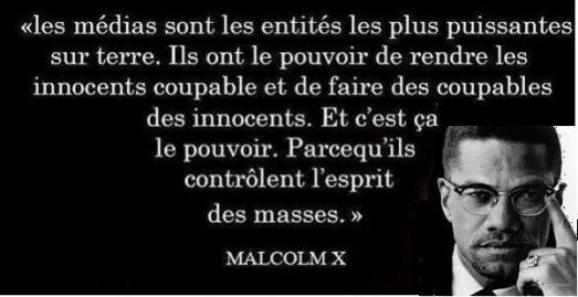 Malcolm X sur les médias