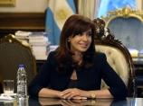 La Présidente Cristina Fernández