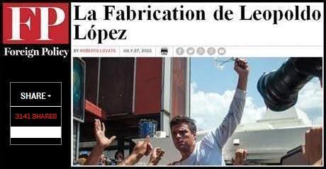 Leopoldo Lopez Foreign Policy