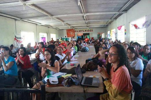 """École de féminisme populaire, commune """"La Azulita"""", État de Mérida, 2 au 5 octobre 2015"""