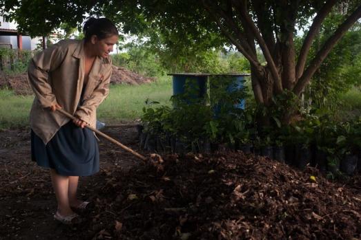 Celia Rodrigues, formatrice du Mouvement des Travailleurs Ruraux sans Terre au Venezuela