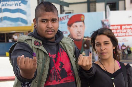 Juventud Guerrera del 23 de Enero. Foto Milangela Galea