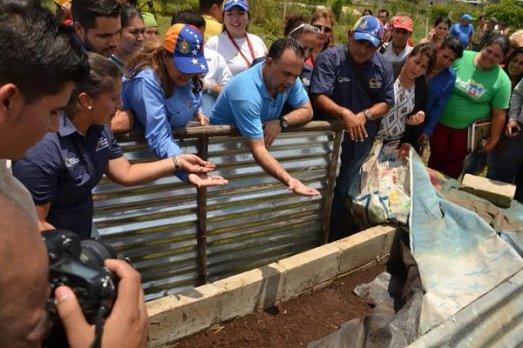 Projets d'agriculture urbaine et jardins dans les écoles primaires (Venezuela, janvier 2016)