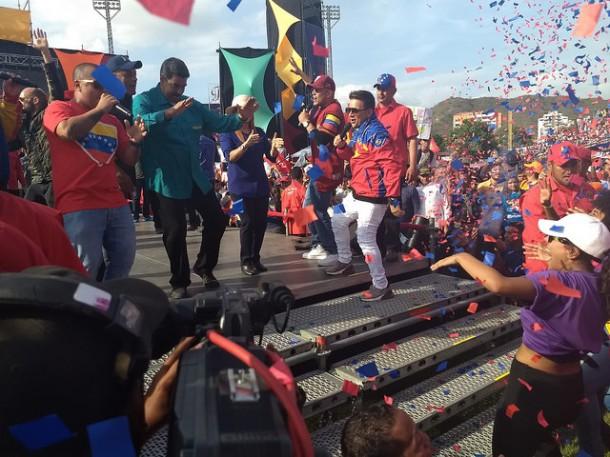 Maduro meeting Maracay