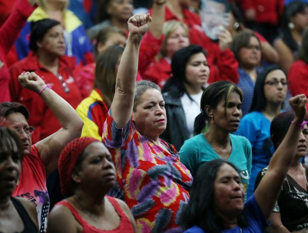 Assemblée préparatoire du Congrès des femmes vénézuéliennes (2015) Photo : Archives